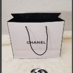 Chanel paper bag 8 x 8 x 3